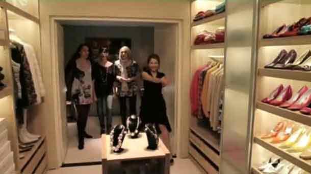 Jede Frau wünscht sich doch einen begehbaren Kleiderschrank