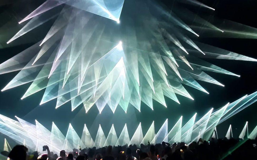 Was für eine KRASSE Lasershow