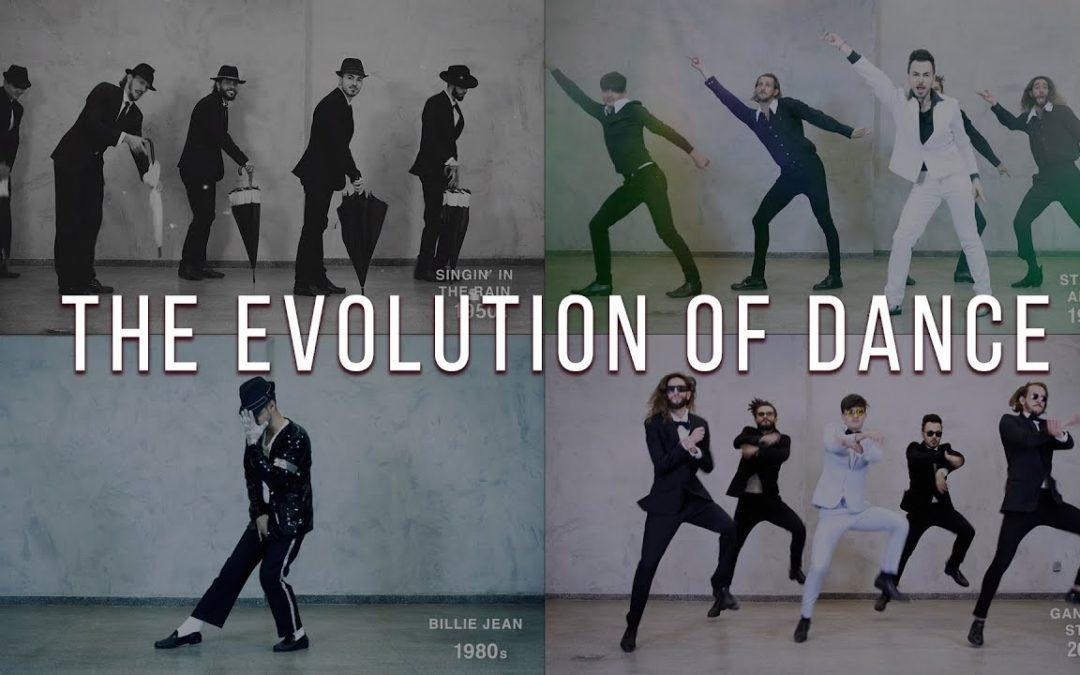 Evolution of Dance  1950 bis 2019