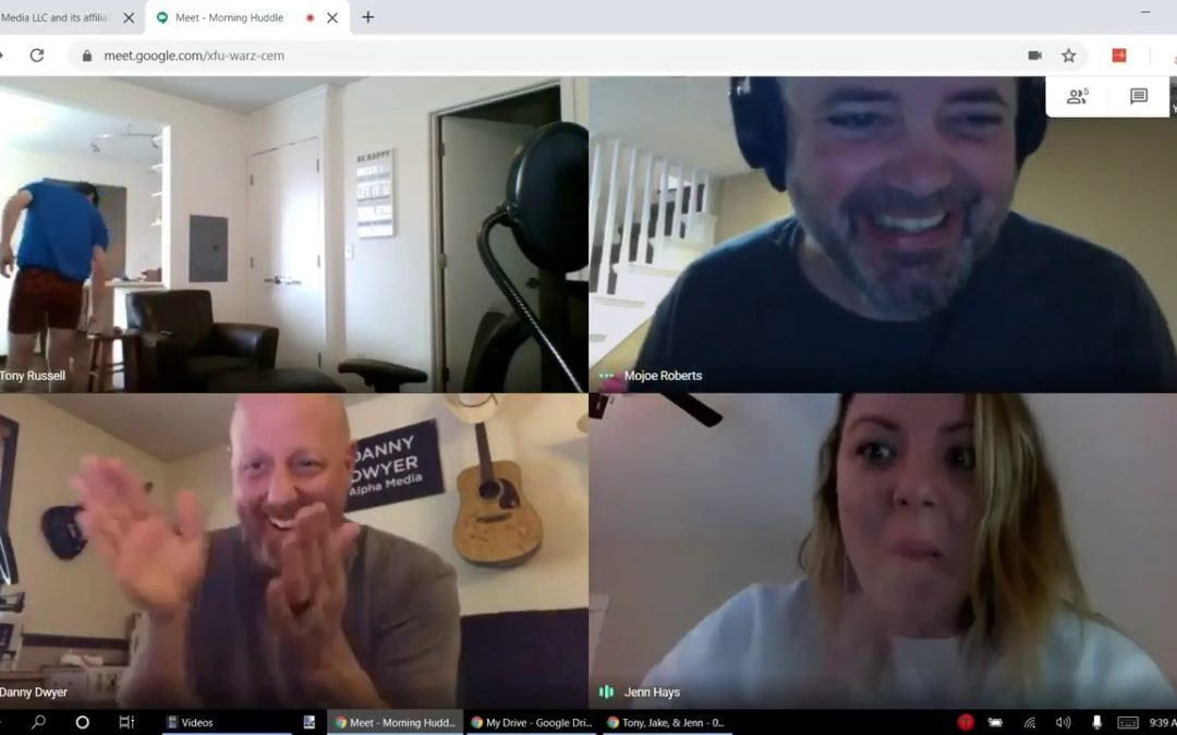 Peinliche Video Konferenz