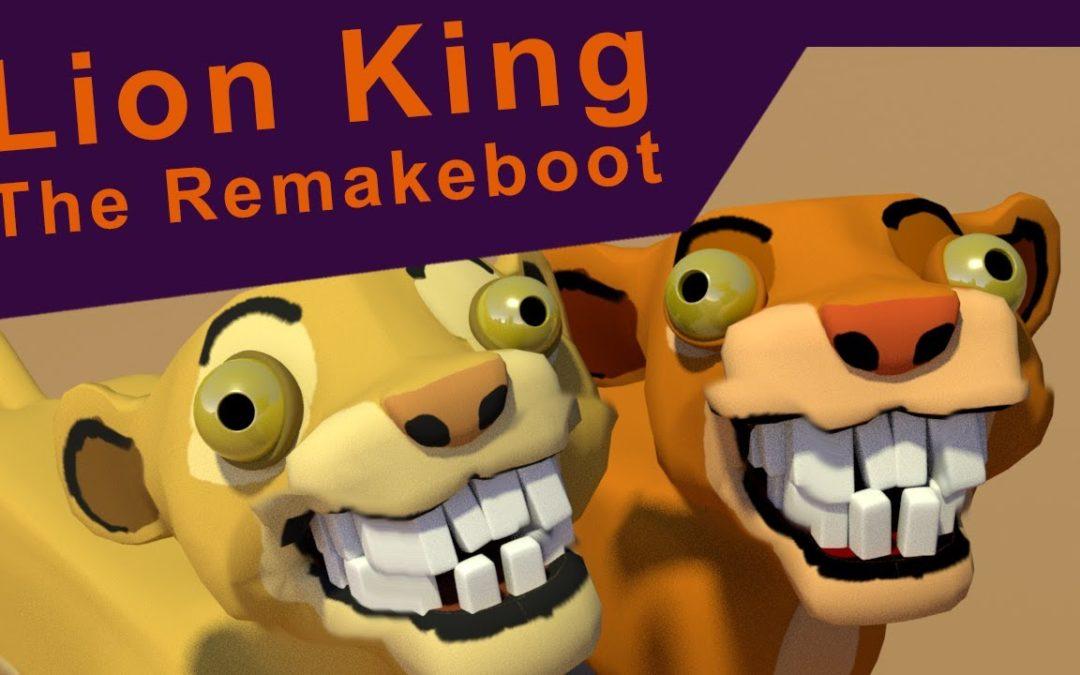 König der Löwen komplett neu animiert
