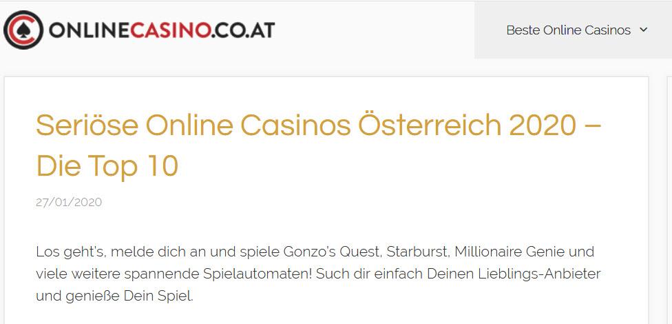 Wie finde ich seriöse online Casinos?