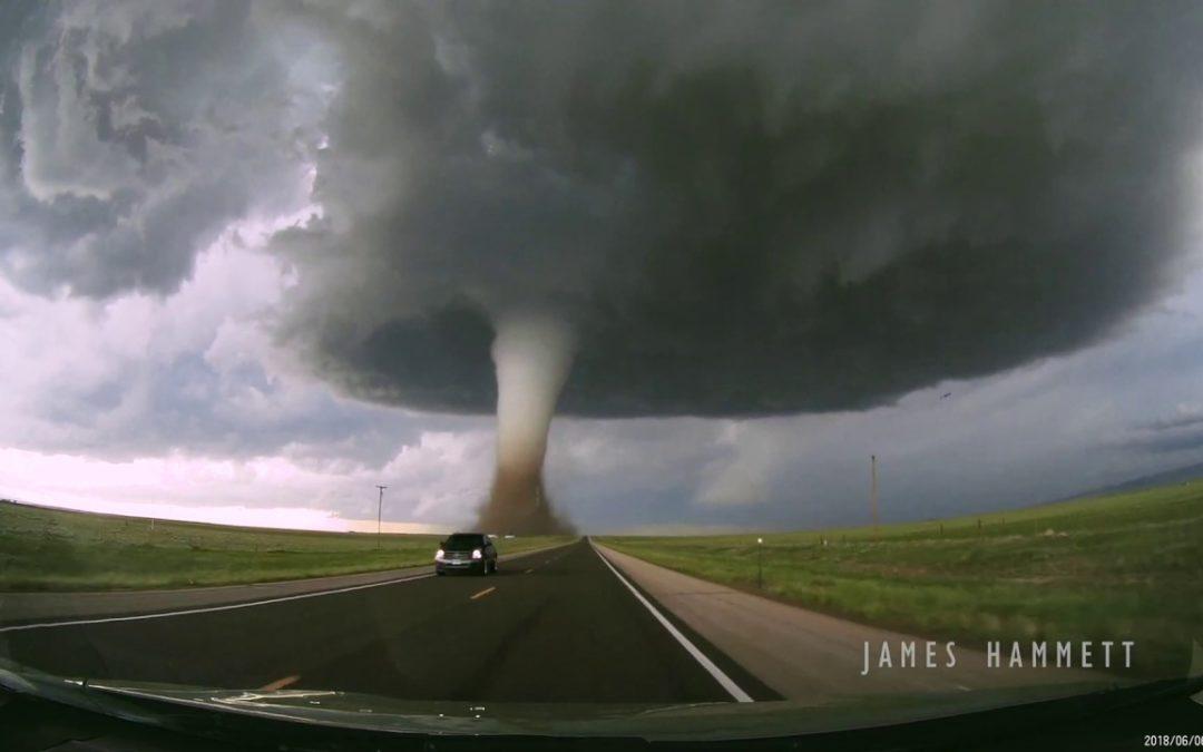 James Hammett jagt einen Tornado