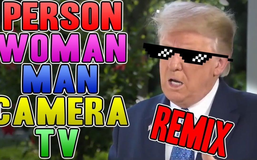 Person Woman Man Camera TV REMIX