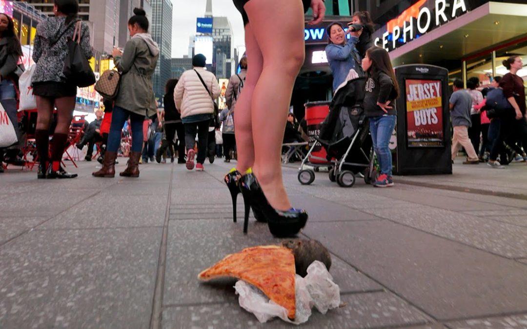 Die Ratte mit der Pizza Prank