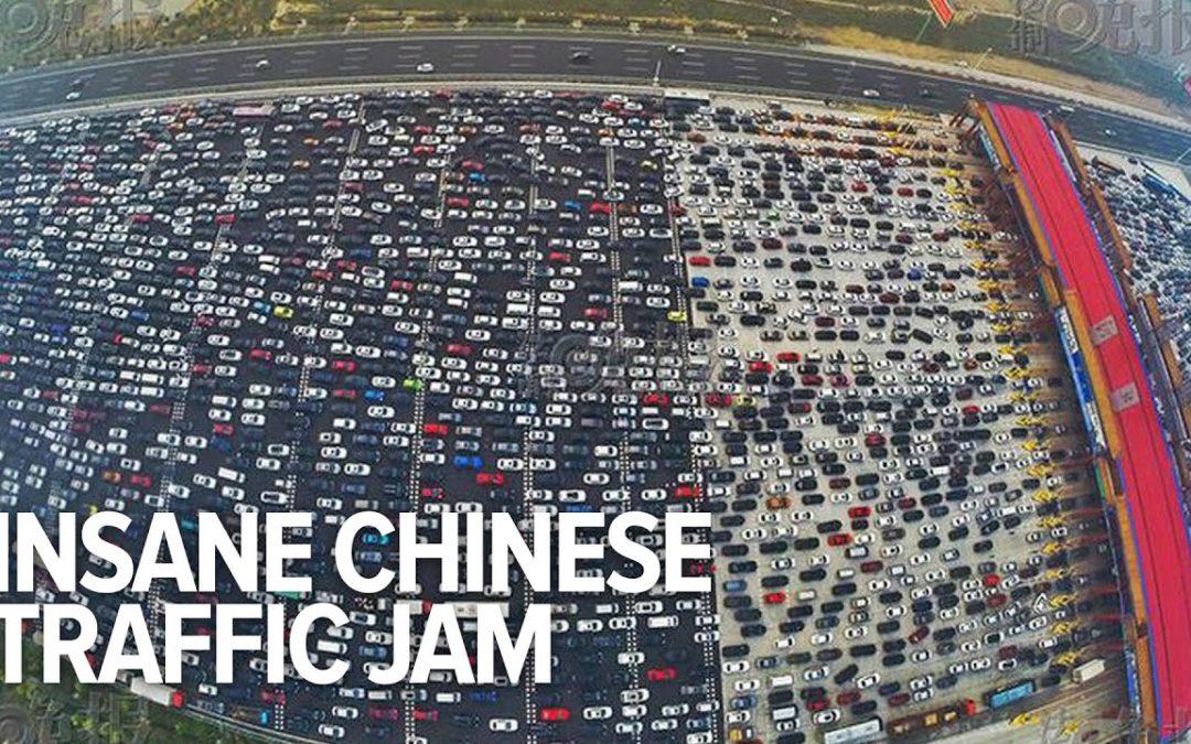 Krasser Verkehr in China