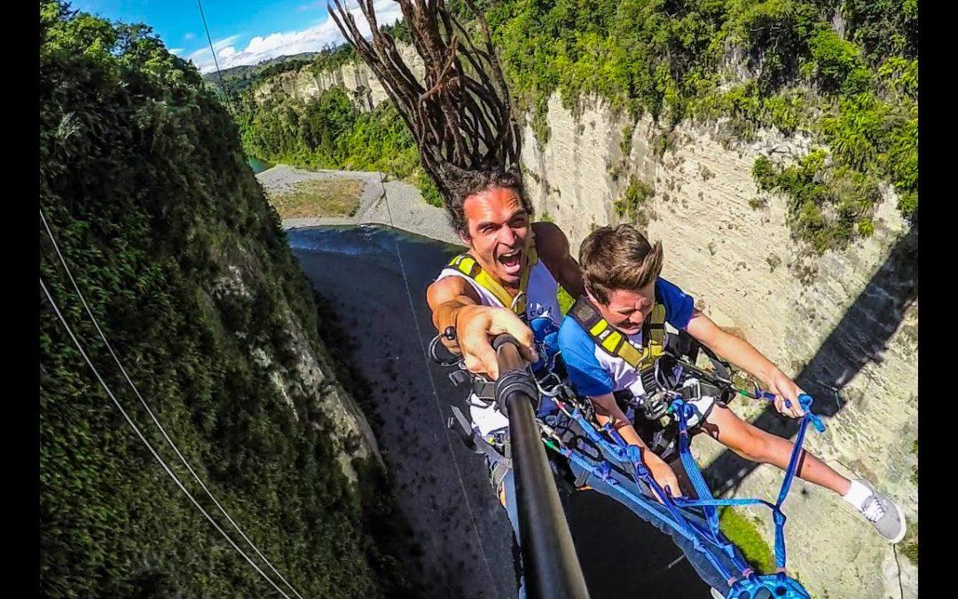 Spass im Gravity Canyon